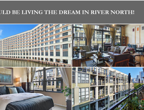 Riverside Loft With a Private Terrace for Sale in the Heart of River North