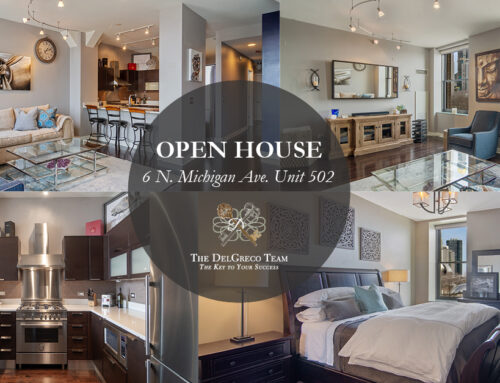 Open House: Impressive Condo Located in an Historic Building Directly on Michigan Avenue
