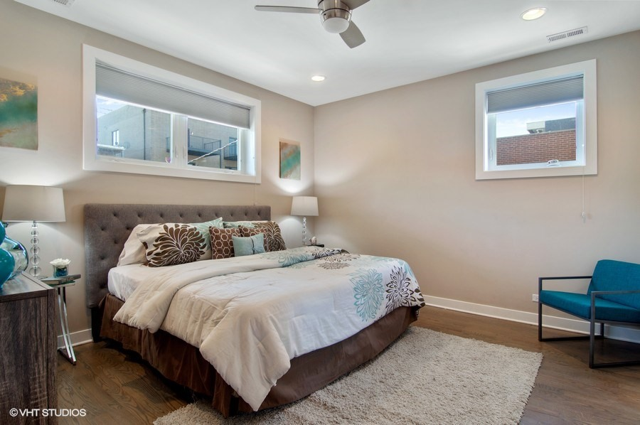 Ukrainian Village - 1517 West Superior Street Unit 2, Chicago, IL 60642 - Master Bedroom