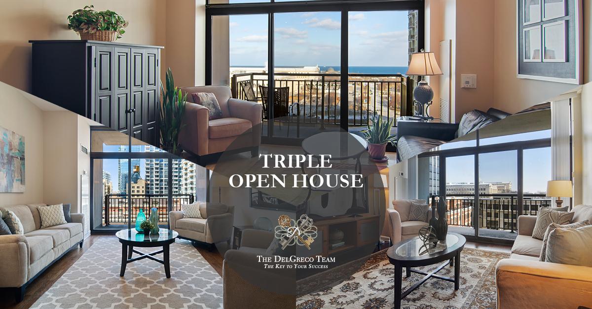 Triple Open House 1322 South Prairie Avenue