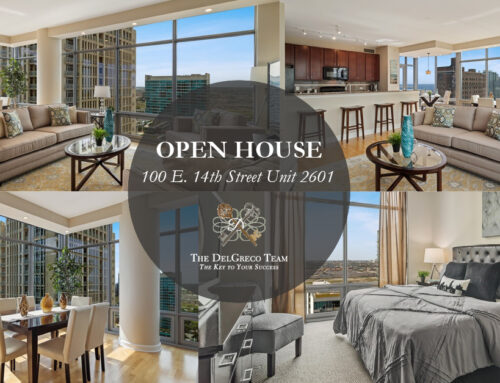 Open House: Panoramic Views of Lake Michigan from this Sunny and Cheerful Corner Condo