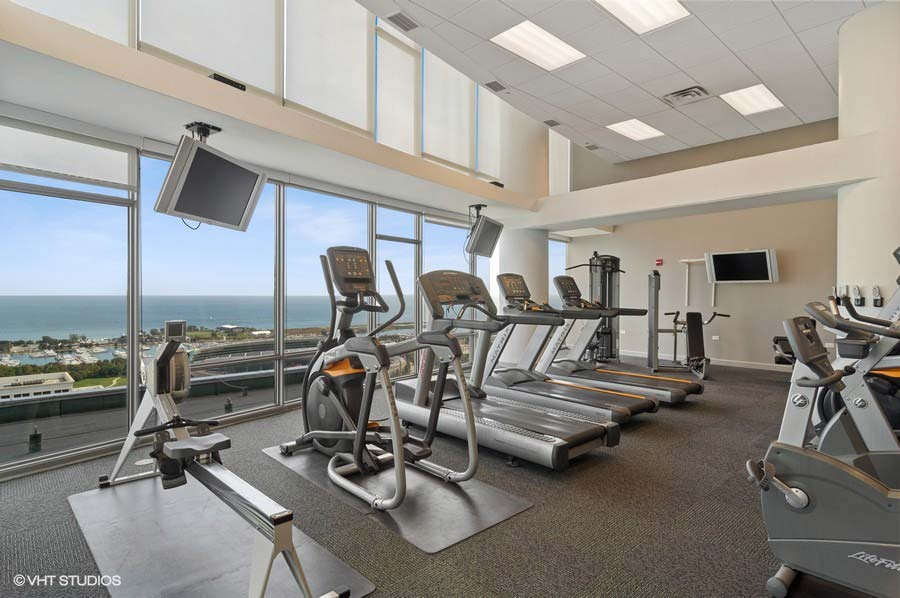 Museum Park Tower One - 1322 South Prairie Avenue - Fitness Center