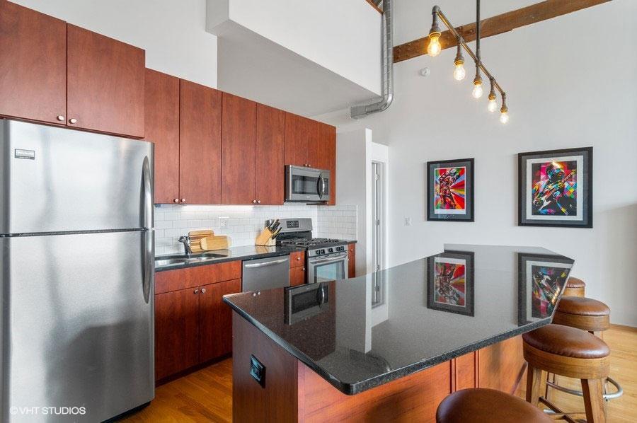 South Loop - 2303 South Michigan Avenue Unit 503, Chicago, IL 60616 - Kitchen