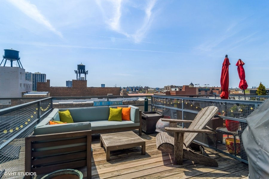 South Loop - 2303 South Michigan Avenue Unit 503, Chicago, IL 60616 - Rooftop Deck