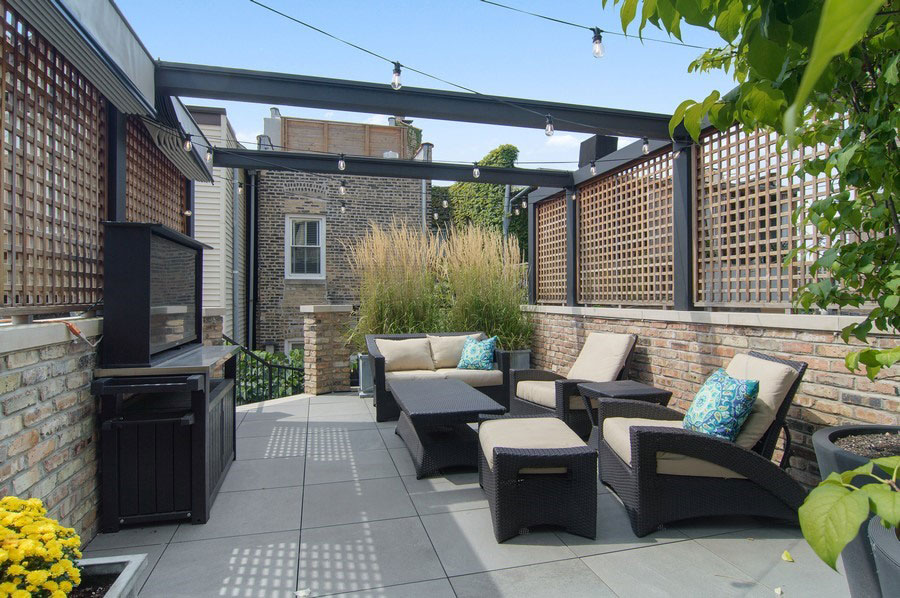 Lincoln Park - 2321 North Halsted Street, Chicago, IL 60614 - Rooftop Deck