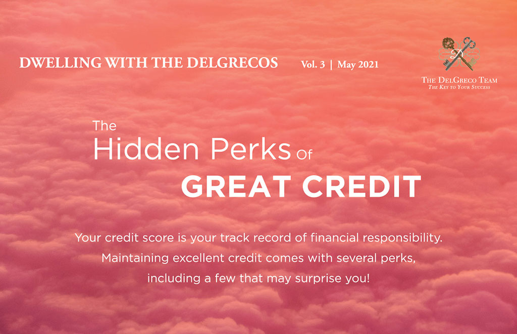 The DelGreco Team - Newsletter May 2021