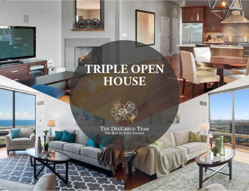 TRIPLE OPEN HOUSE: 2 IN SOUTH LOOP AND 1 IN WEST LOOP